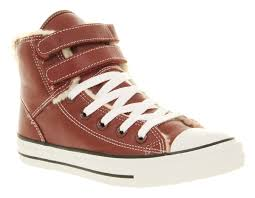 mens converse leather shearling trainers couva east secondary