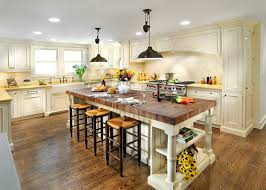 butcher block kitchen island pretty butcher block island in kitchen traditional with island