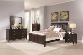bedroom table ls set of 2 6 piece bedroom set in dark brown finish by coaster b180