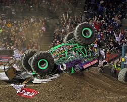 monster truck show in anaheim dennis anderson u0027s grave digger monster truck rollover in a u2026 flickr