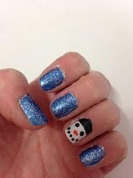 snowman nail design beginnersnailart u0027s blog