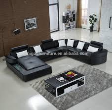 Corner Leather Sofa Sets Studded Leather Furniture Studded Leather Furniture Suppliers And