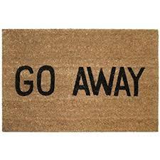 Long Doormats Amazon Com Welcome Don U0027t Expect Much Doormat Door Mat