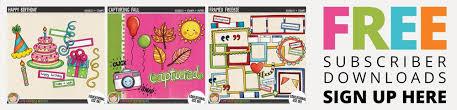 doodle name kate digital scrapbooking freebies kate hadfield designs