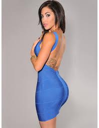 vestido bandage vestido bandage azul