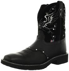 s country boots size 11 amazon com justin boots s collection boot