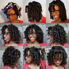 roller set relaxed hair flexi rod set flexi rods roller set and deep conditioning