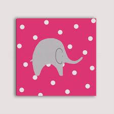 toile pour chambre bébé elephant peint à la toile tableau pour chambre d enfant bébé