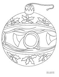 ornament coloring page kinderart