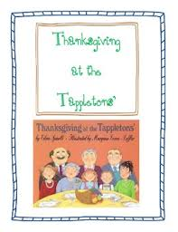 thanksgiving at the tappletons common comprehension pack tpt