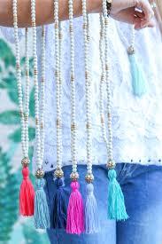 tassel necklace images Tassel necklace chic happens jpg