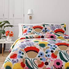 Colorful Queen Comforter Sets Marimekko Ojakellukka Full Queen Comforter Set Marimekko