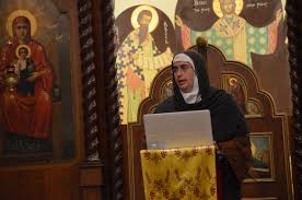 The Geopolitics Of The Orthodox by Mother Agnes Mariam Of The Cross Speaks In Cleveland De Unione