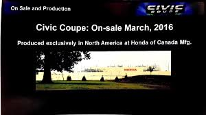 2016 civic coupe specs sheet owner u0027s guide manuals and press kit