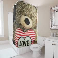 Teddy Shower Curtain Teddy Shower Curtain Valentines Day Gifts Diy Couples