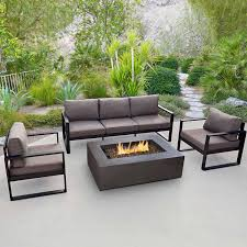 Patio Furniture Sets With Fire Pit by Real Flame Baltic Casual Chair Set Of 2 The Simple Stores