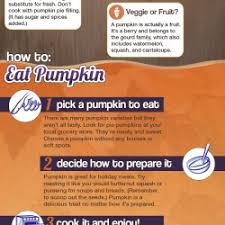pumpkin health facts for and thanksgiving visual ly