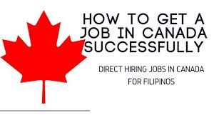 Best Resume To Get A Job by How To Get A Job In Canada Successfully Direct Hiring Jobs In