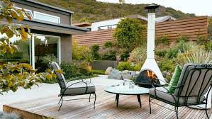 Awesome Backyard Ideas Outdoor Awesome Backyard Deck With Firepit Decoration 20 Cozy