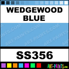 Blue Paints Wedgewood Blue Softees Ceramic Porcelain Paints Ss356