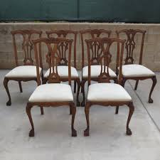 antique dining room sets chippendale dining room table of with antique chairs sets pictures