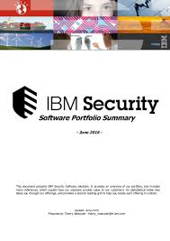 ibm security software solutions