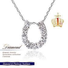 lucky horseshoe gifts accessoryshopbarzaz rakuten global market diamond platinum
