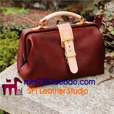 made leather bag drawings diy hand sewing bag pattern paper tool
