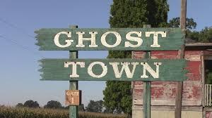 ghost town readies for halloween season youtube