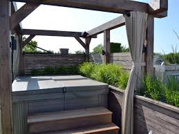 Pergola With Fire Pit by Photos Chicago Roof Deck Garden Hgtv