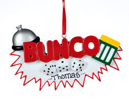 buy personalized bunco activities ornaments