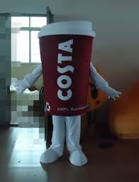high quality wholesale coffee cup costume from china coffee cup