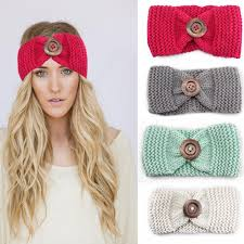 crochet hair bands 2017 handmade woolen crochet braided elastic headband