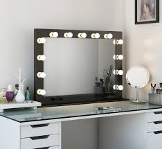 Silver Bedroom Vanity 12 Best High Gloss Hollywood Mirrors Images On Pinterest High