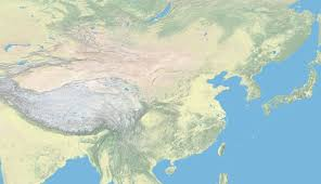 Blank China Map by Geography Of China