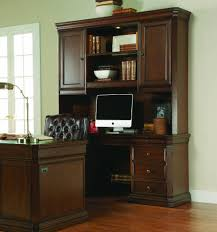 Cherry Computer Desk With Hutch by Hooker Furniture Home Office Cherry Creek Computer Credenza Hutch