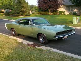 1968 dodge charger green sold 1968 dodge charger 1 family two owner restored