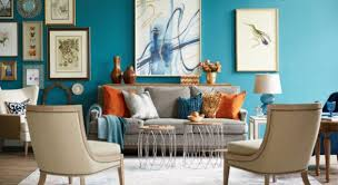 HomeGoods Colorful Living Room - Colorful living room