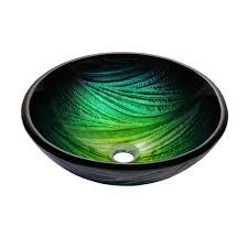 bathroom glass vessel sink and faucet combination kraususa com