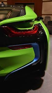 Bmw I8 Green - bmw i8 finished in lime green is a sight to behold