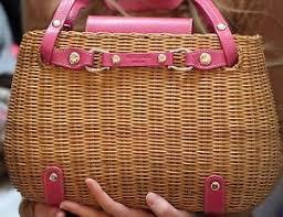 kate spade basket handbags u0026 purses ebay
