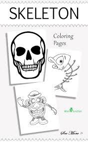 human skeleton coloring u2013 hd