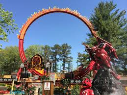 Six Flags New Jersery El Diablo Opens At Six Flags Great Adventure