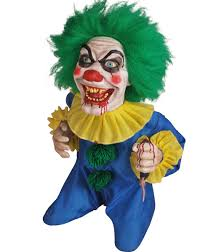 Animated Bite Sized Clown Prop Wantster
