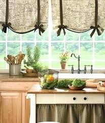 Tie Up Valance Curtains Tie Up Kitchen Curtains Tie Up Shade Curtains For The Office Spare