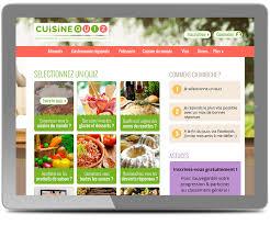 quiz de cuisine webdesigner pour le site cuisine quiz