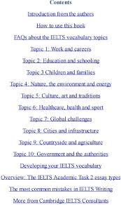 ielts past paper writing essays ielts sectional conflicts in the american community essay ielts band vocab secrets the ten essential ielts vocabulary and sport topic 7 global challenges topic