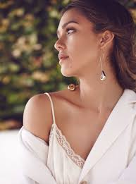 alba earrings alba stuns in magazine talks downside of