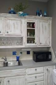 kitchen ideas with white washed cabinets pin by deborah davis on my projects distressed kitchen