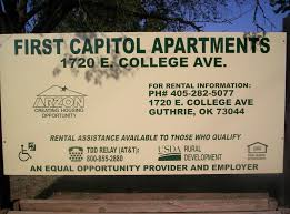 Usda Rural Housing Development First Capitol Apartments Rentals Guthrie Ok Trulia